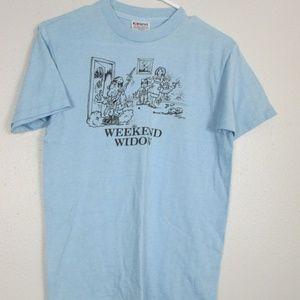 1982 Weekend Widow Shirt Size Medium